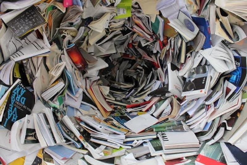 Papper till återvinning