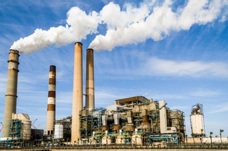 Utsläpp från pappersfabrik